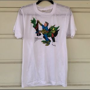 Vintage '84 Screen Stars Myth Adventures Comic Tee